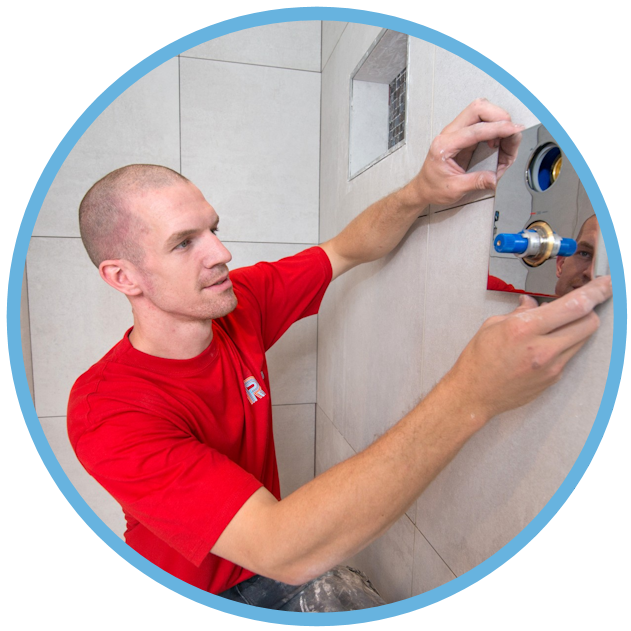 Aanleggen leidingwerk badkamer renovatie