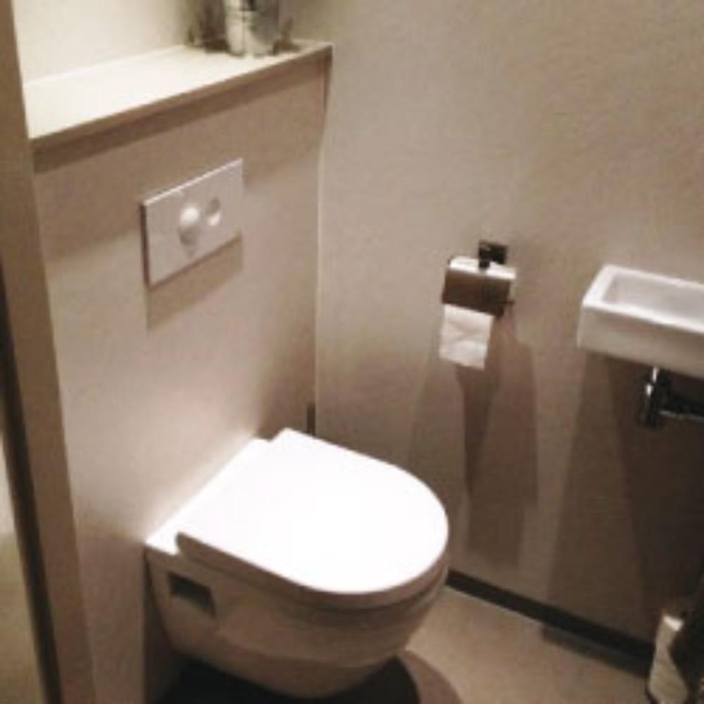 Toiletrenovatie na oplevering