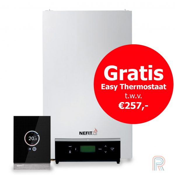 Gratis Nefit easy thermostaat bij Nefit Trendline of Topline